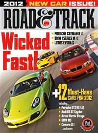 Журнал Журнал Road and Track №9 (сентябрь 2011) / US