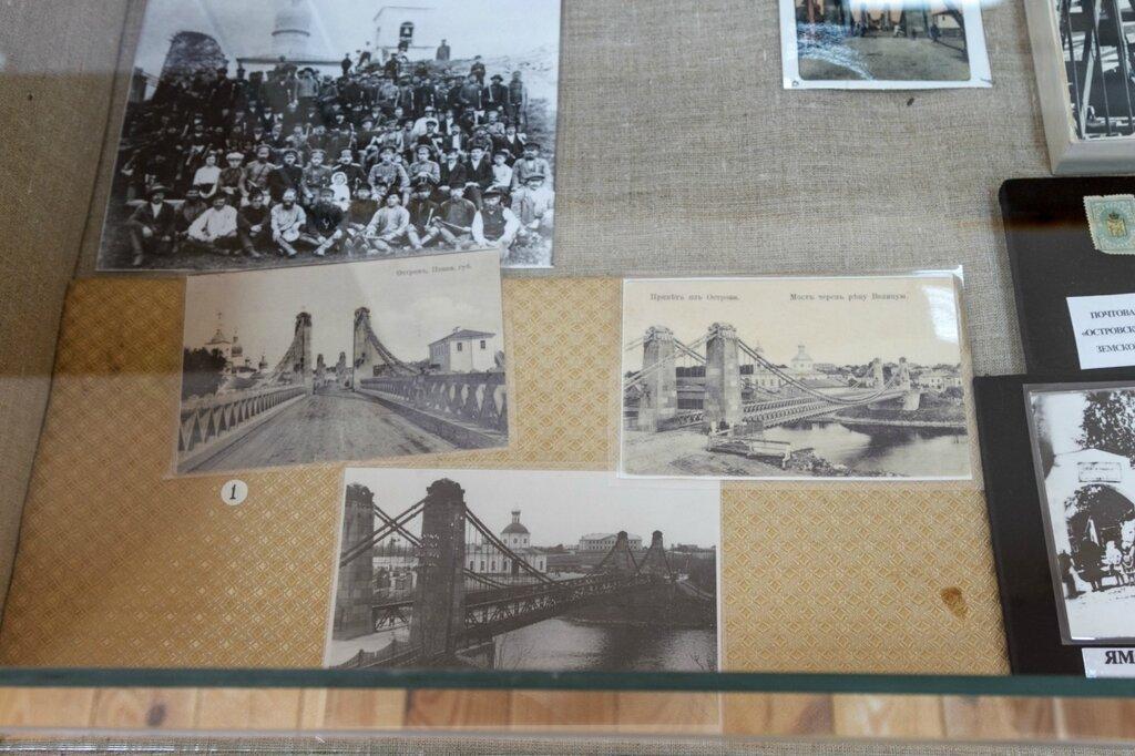 Старые фотографии цепного моста
