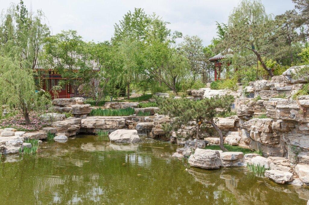 Сад Пекина, Парк-выставка садов