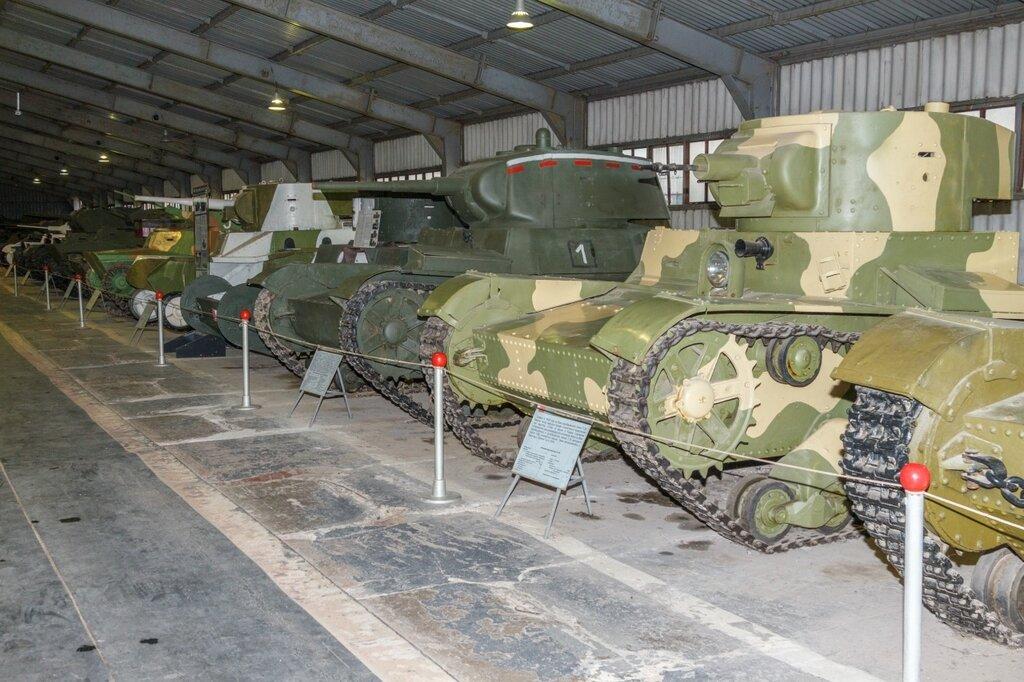 Советские легкие танки. Период до второй мировой войны, Кубинка