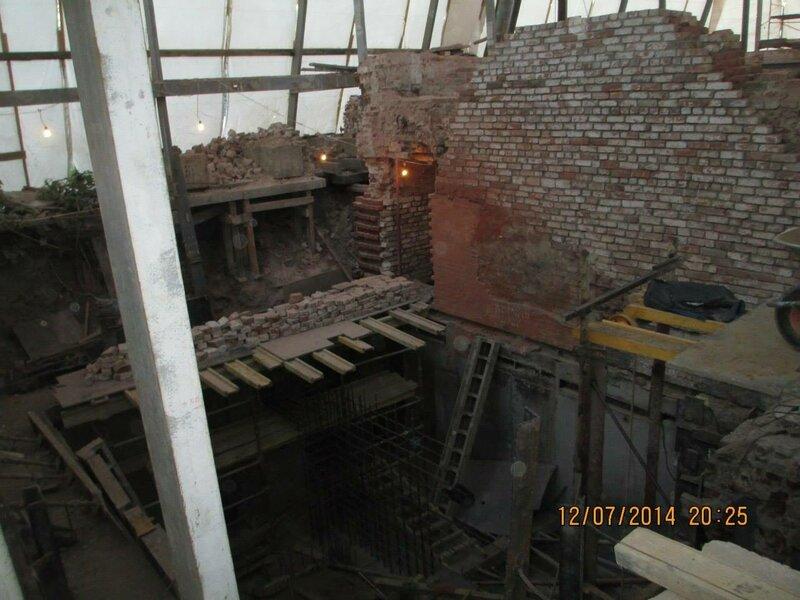 Палаты 17 века возле Зачатьевского монастыря в Москве уничтожены (Остоженка, 19 стр.2)