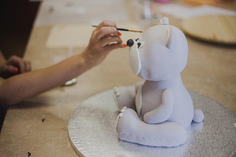 торт мишка курсы