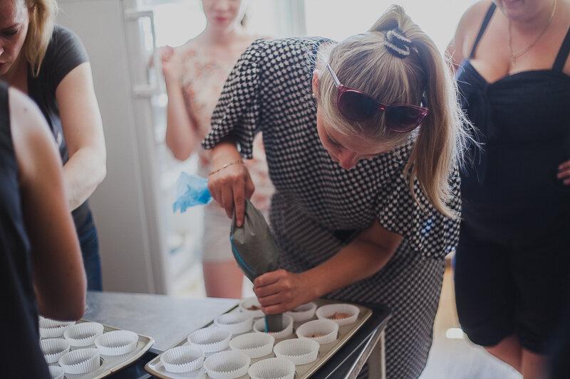 выпечка капкейков