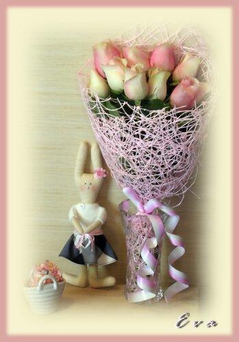 Зайка и розы...(1)