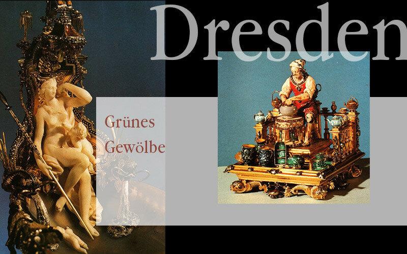 Дрезден. Зелёные своды, часть 3