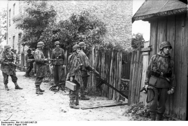 Warschauer Aufstand, Infanteristen