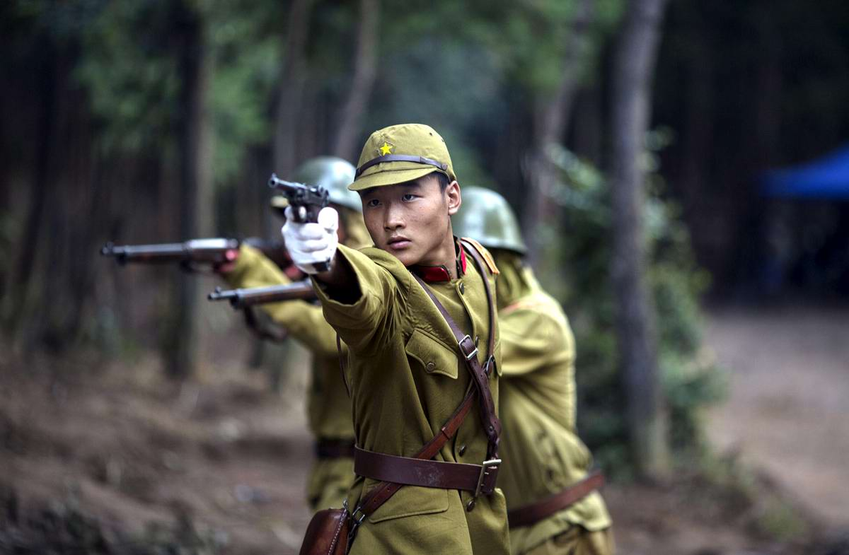 Война и немцы: На съемках китайского телесериала о 2-й мировой войне (4)