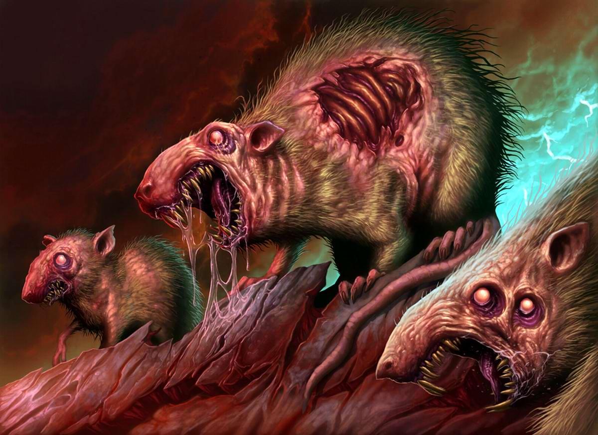 Крысы-мутанты - Dave Allsop