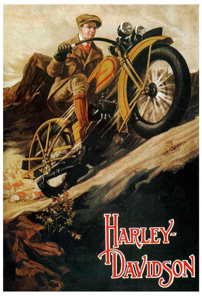 Harley-Davidson - США (1929 год) - 2
