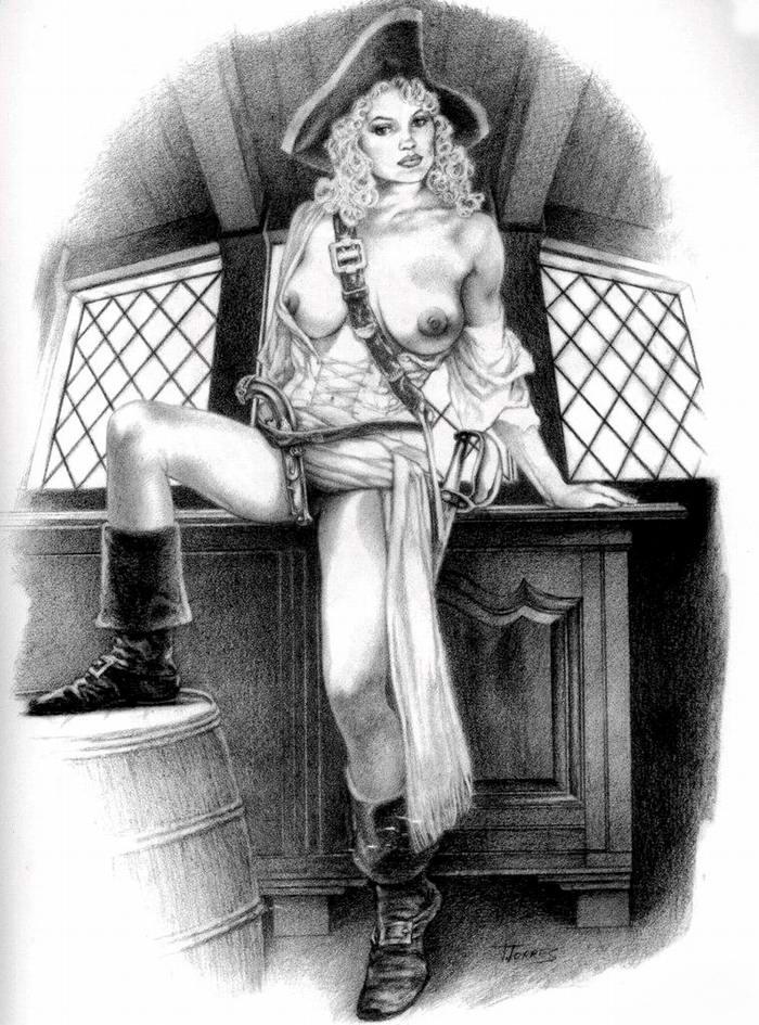 Графика: истории из жизни девушек - пираток (55)