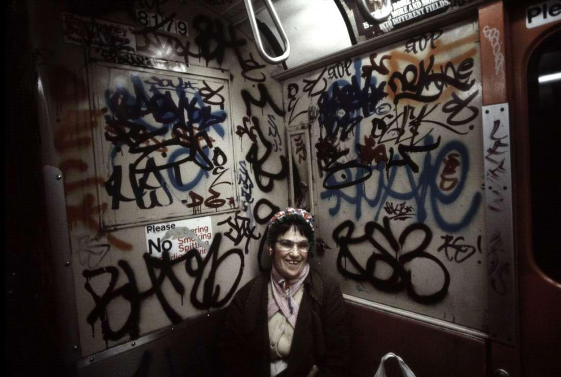 Американский фотограф Christopher Morris: Граффити и андеграунд нью-йоркского метро (25)