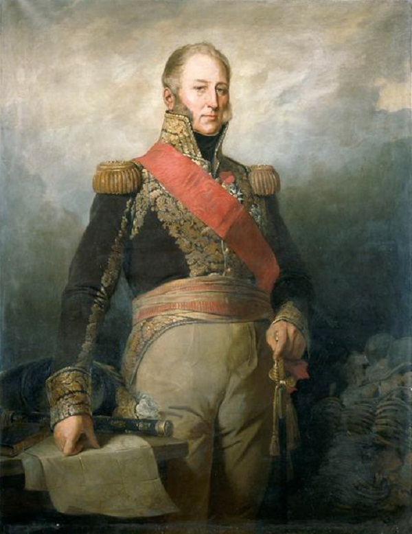 Portrait of Marshal Mortier by Edouard Dubufe