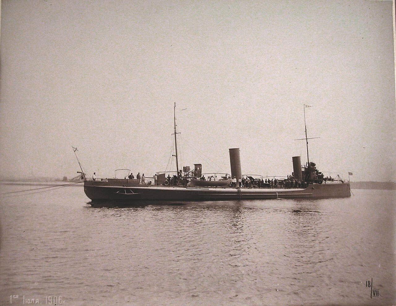 18. Общий вид минного крейсера «Москвитянин». 01 июля 1906