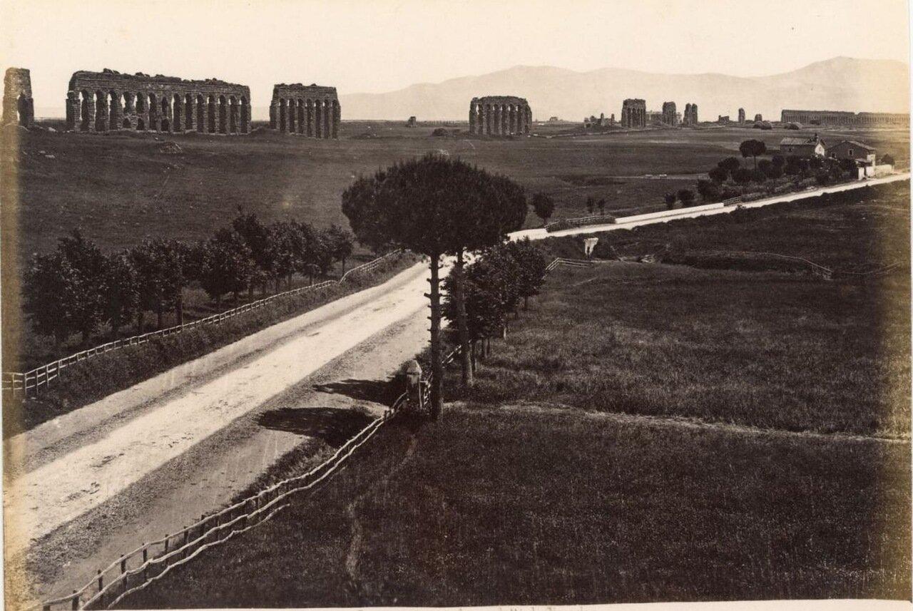 Акведук Клавдия. 1870