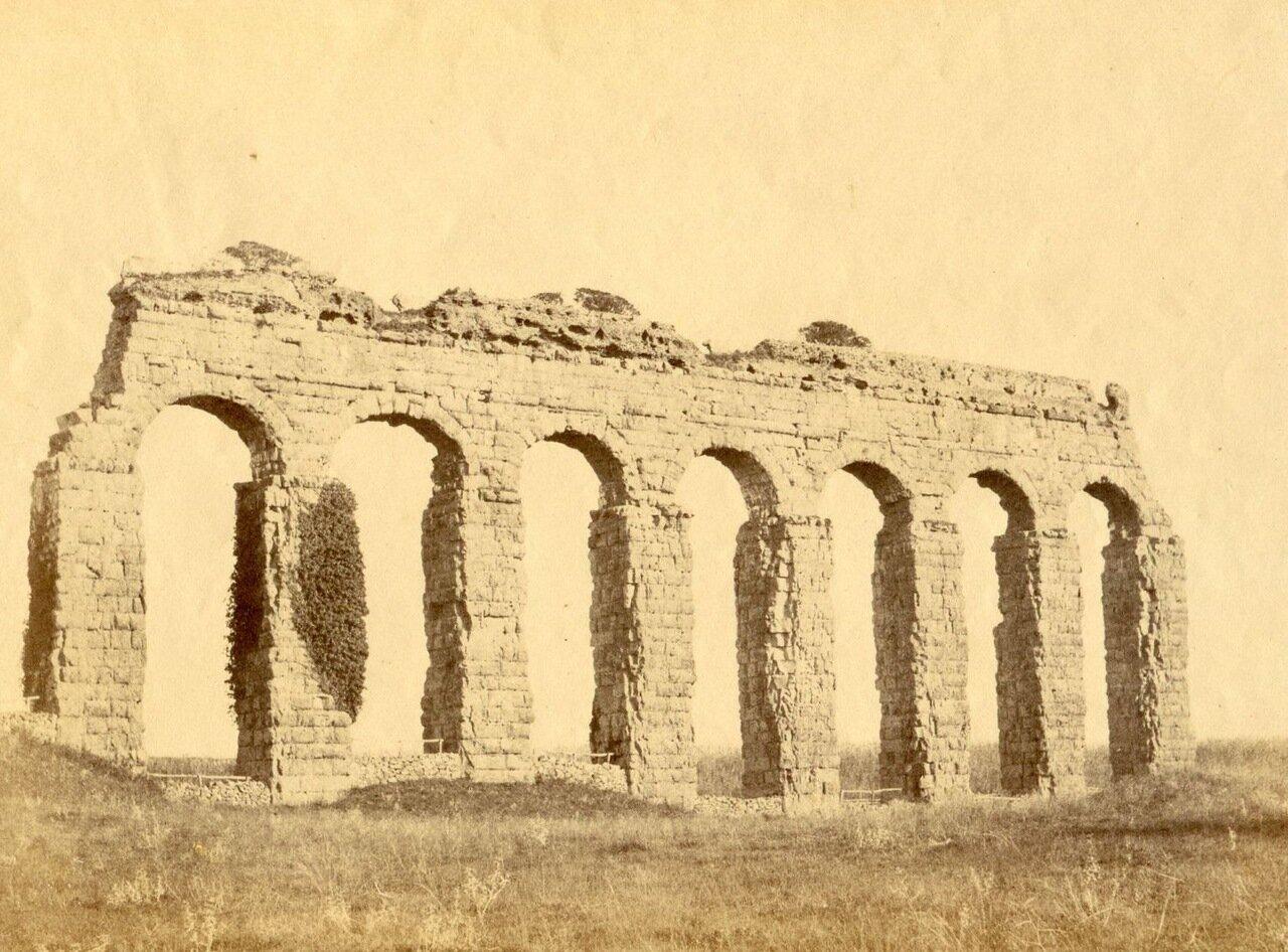 Остатки римского акведука. 1855
