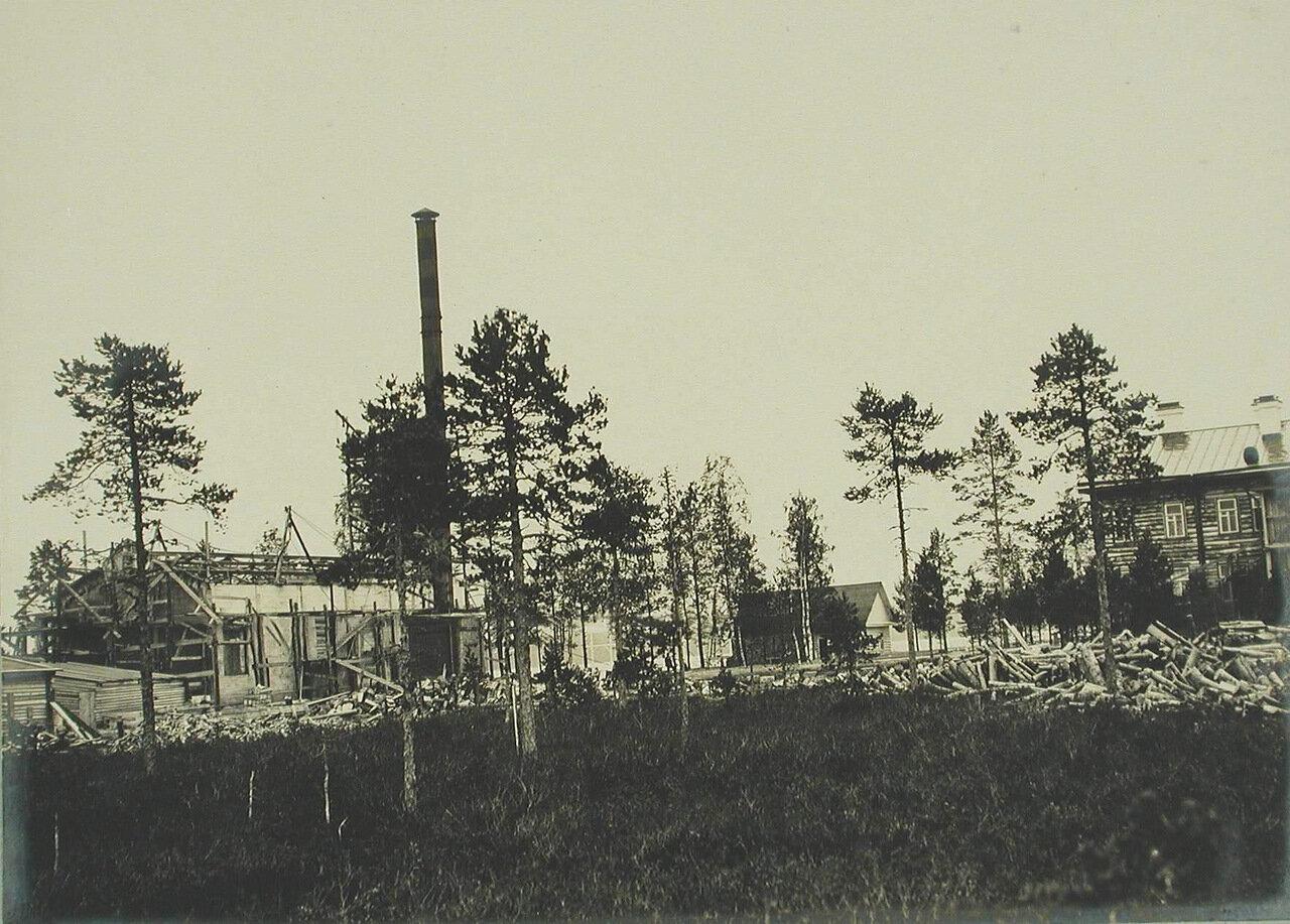 10. Общий вид строительства электростанции