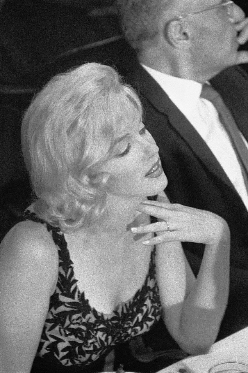 Marilyn Monroe Listening