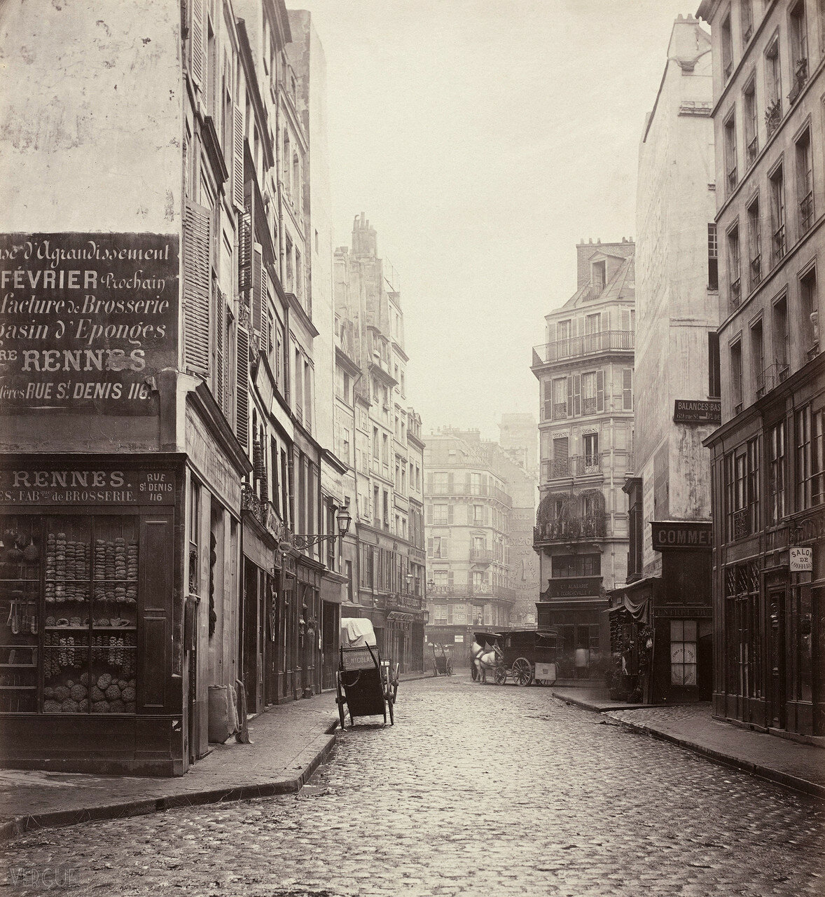 Рю дэ Ломбар. 1865