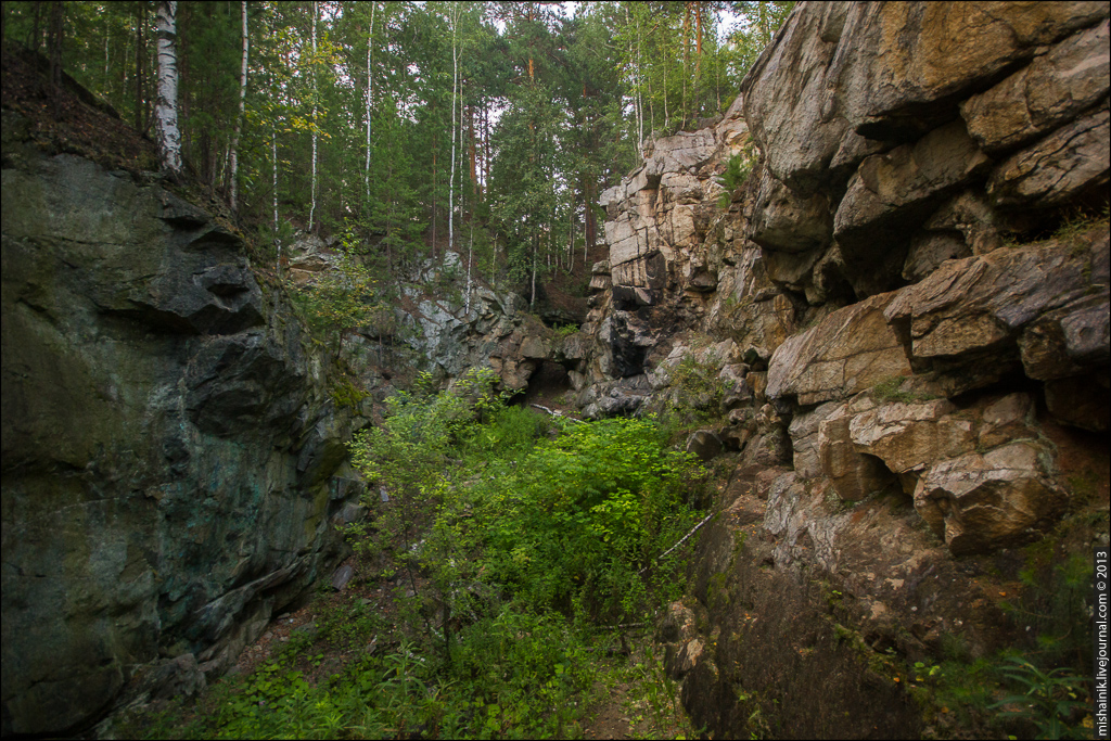 Шиловский медный рудник п. Медный