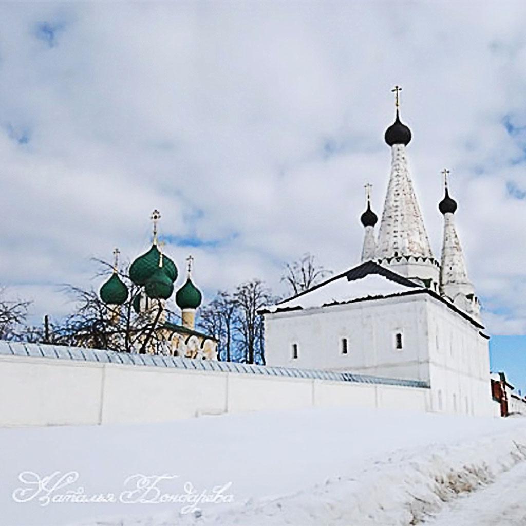 Дивная церковь, Углич, Алексеевский монастырь.