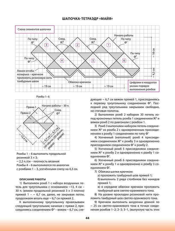 Вязание треугольника спицами пэчворк 82