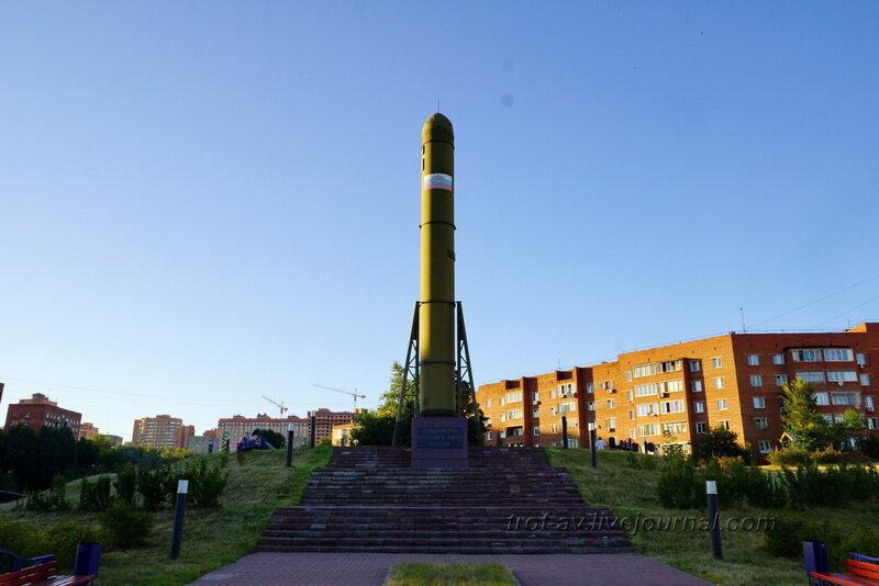 Мемориал создателям ракетного щита Росиии,  Дзержинский