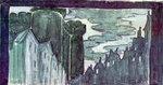 С.М.Эйзенштейн. Эскизы декораций к спектаклю «Взятие Бастилии»
