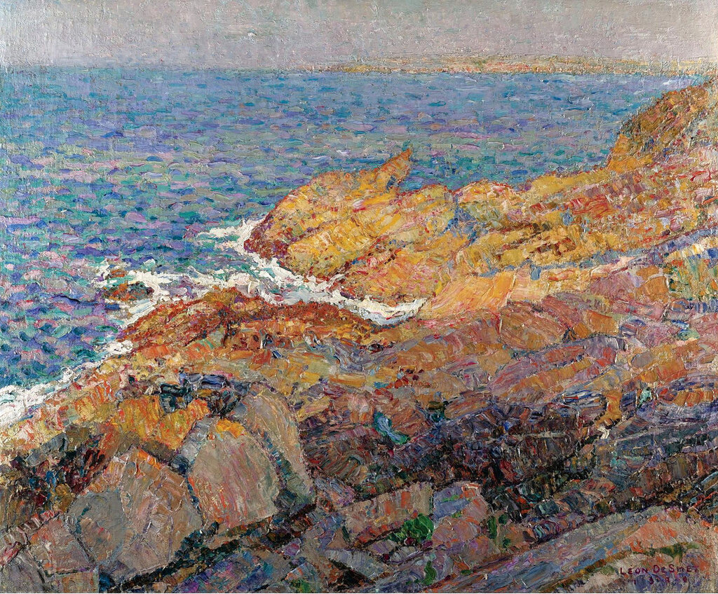 Leon De Smet - Sea Cliffs, 1920.jpeg