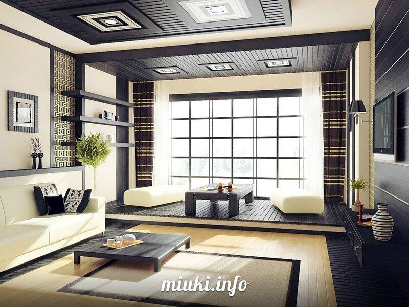 Современные интерьеры японских квартир