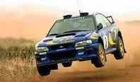 Colin McRae на Subaru Impresa WRX