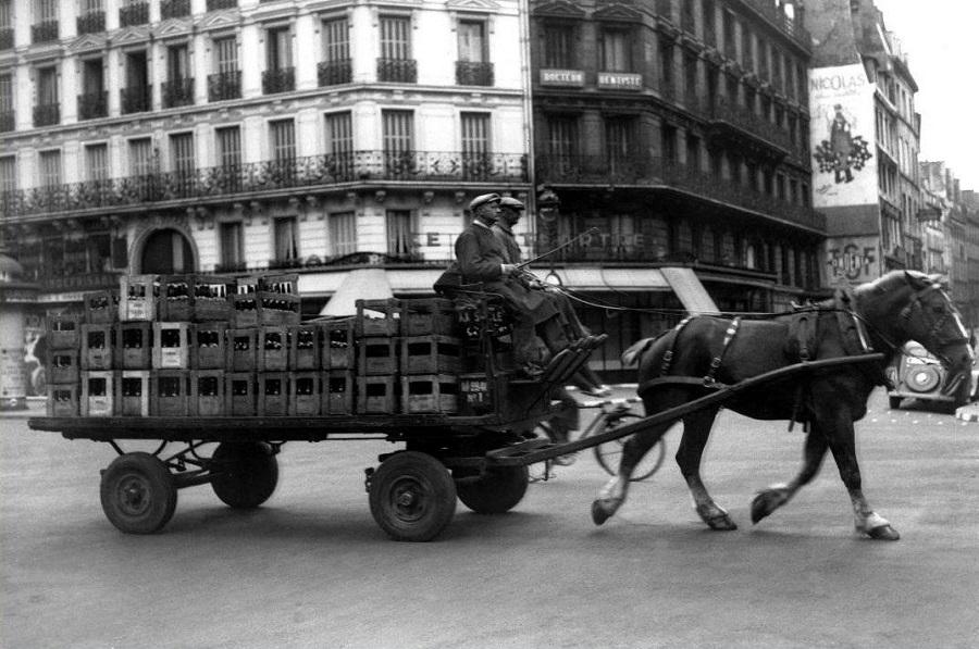 20 Le retour des attelages de chevaux juillet 1940.jpg