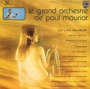 Paul Mauriat - Le Lac Majeur (1972) [Philips, 6332 121]