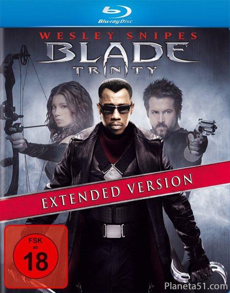 Блэйд 3: Троица [Расширенная версия] / Blade: Trinity [Extended Version] (2004/BDRip/HDRip/DVDRip)