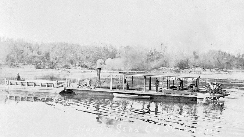 Towboat «City of Eddyville», Missouri - New Madrid, 1912