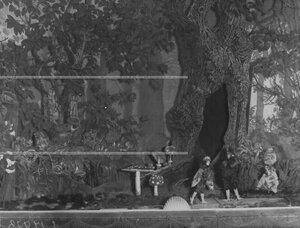 """Сцена в 4-х действиях из спектакля Б.С. Глаголина """"Шантеклер"""" по пьесе Э. Ростана (перевод Татьяны Львовны Щепкиной-Куперник)."""