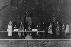"""Сцена из 3-го акта спектакля """"1569 год"""" по пьесе В.В. Борятинского."""