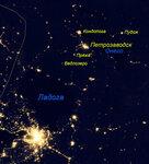 Ночная Европа и Север в 2012 году