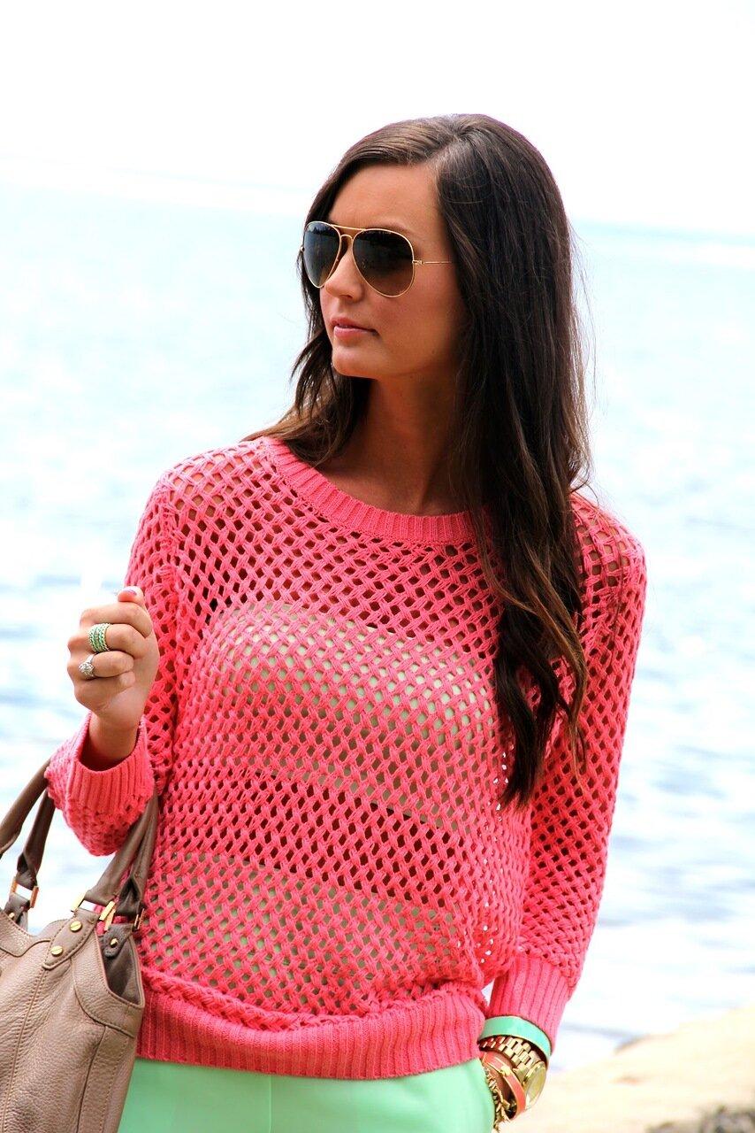Коралловый пуловер от Zara...jpg