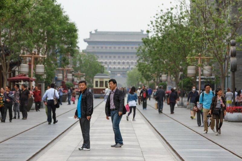 улица Цяньмэнь, Пекин