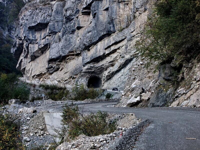 в Дигорском ущелье