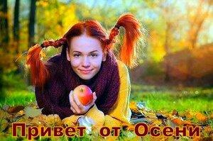 Я - женщина-осень. В глазах моих дождь.И в спутанных прядях опавшие листья.......