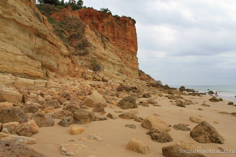 Португалия, Лагуш, пляж Порто де Мос