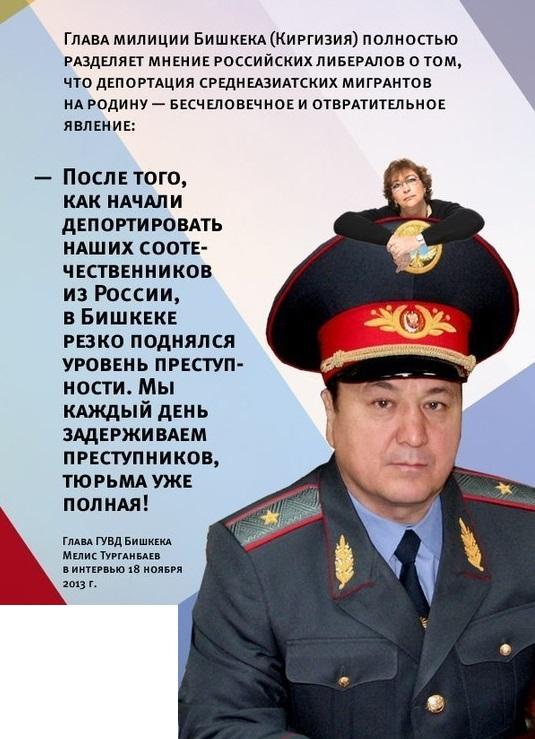 Глава ГУВД Бишкека Мелис Турганбаев В ИНТЕРВЬЮ 18 НОЯБРЯ 2013 г