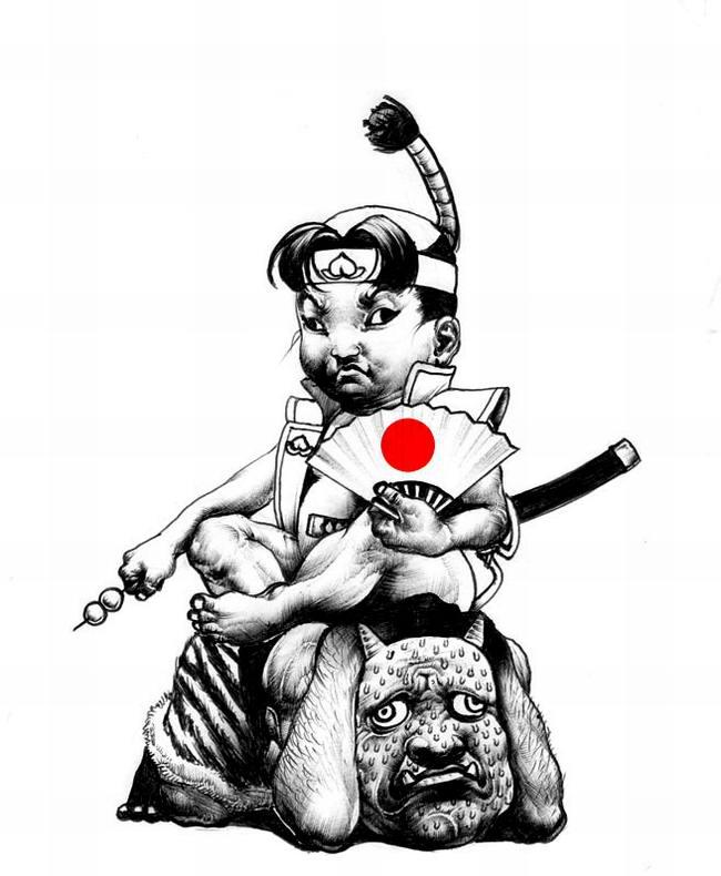 Сумасшедшие рисунки японского художника Shohei Otomo (21)