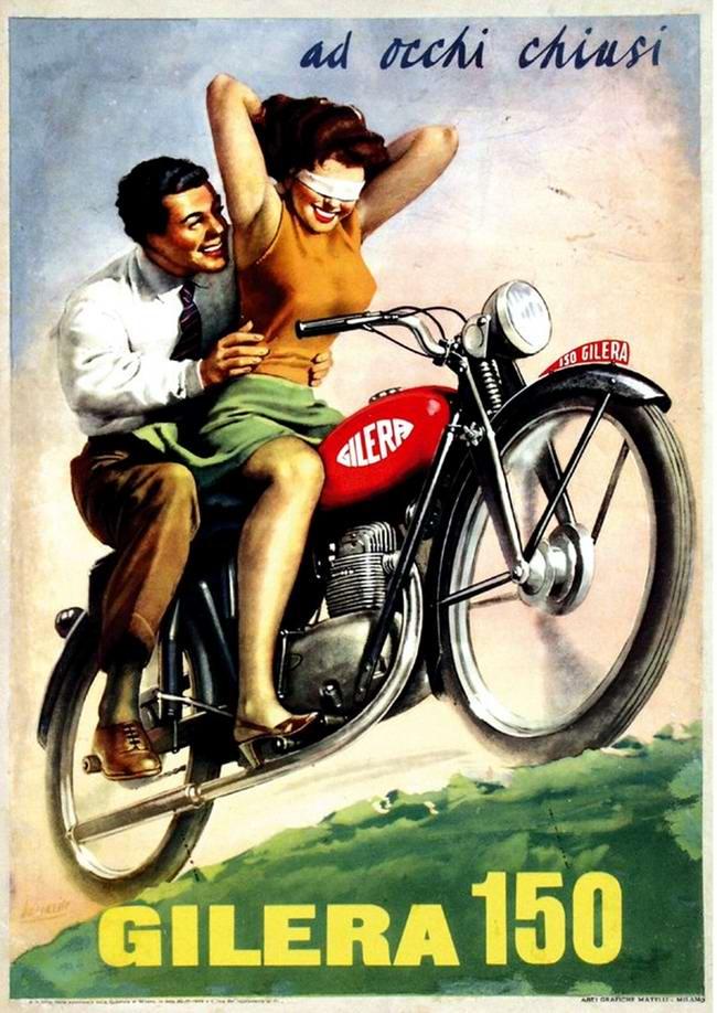 Gilera 150 - Италия (1954 год)