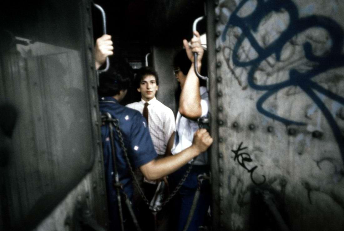 Американский фотограф Christopher Morris: Граффити и андеграунд нью-йоркского метро (4)