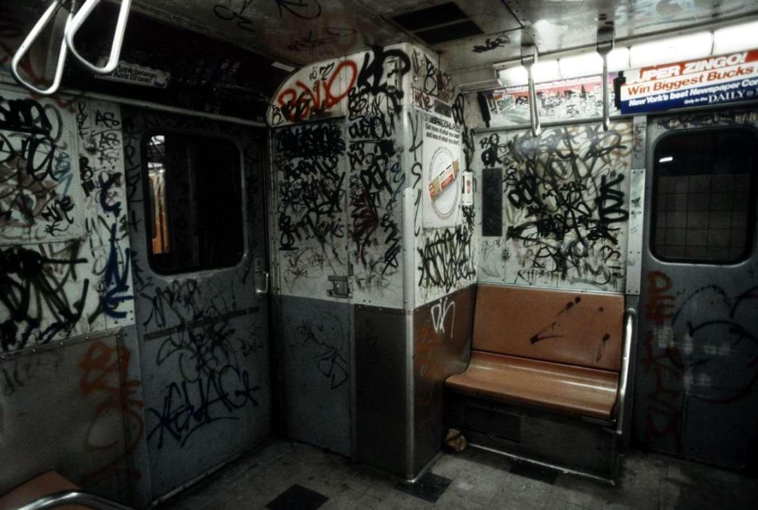 Американский фотограф Christopher Morris: Граффити и андеграунд нью-йоркского метро (23)