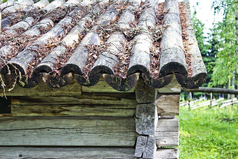 крыша амбара в Ханкасалми (Hankasalmi)