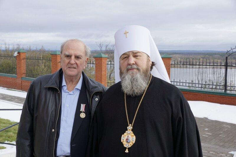 В.В. Никитинский и митрополит Викторин