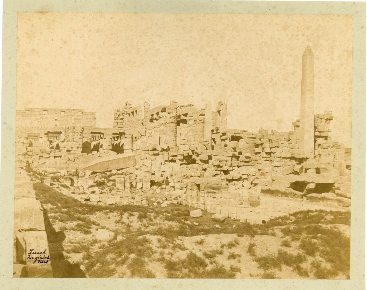 Карнак. Панорама. 1875